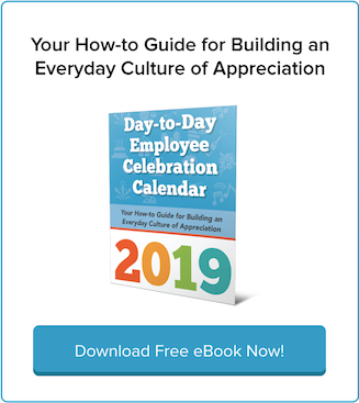 Download Free eBook: 2019 Day-to-Day Employee Appreciation Calendar