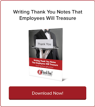 Download Free eBook: Writing Thank You Notes Employees Will Treasure