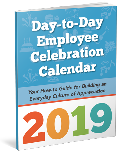 2019 Employee Celebration Calendar by gThankYou